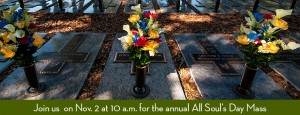 Annual All Soul's Day Mass at Calvary Catholic Cemetery, Clearwater, Fla.